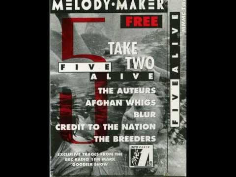 Five Alive Take Two (Melody Maker) - 03 Blur - Advert (BBC Session)