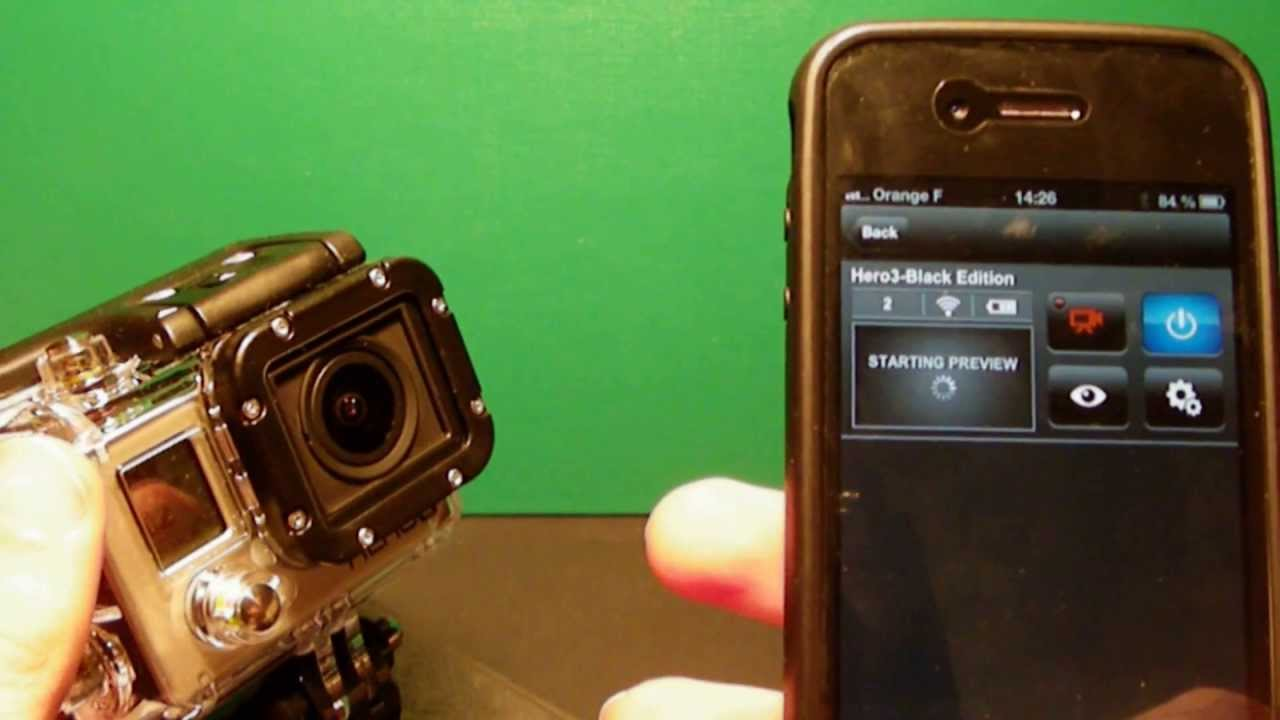 how to connect gopro hero to iphone
