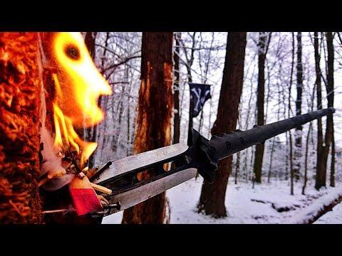 NEVER SEEN EXPERIMENT: Can a Spear Throw Light a Matches?