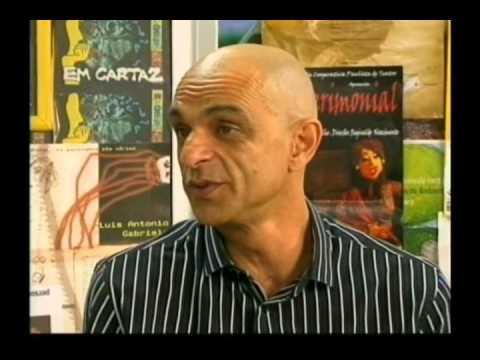 João Signorelli - Gandhi no programa Em Cartaz - Gandhi