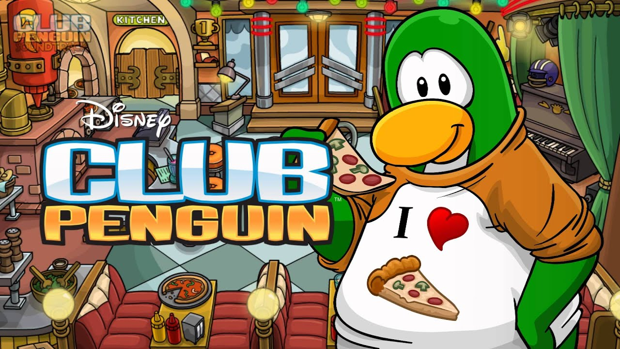 Pizza Parlor Kitchen club penguin music ost: pizza parlor theme 2012 (remodeled version