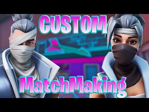 create matchmaking fortnite