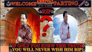 T.B JOSHUA: If You Knew This You Would Never Wish Him Rip!