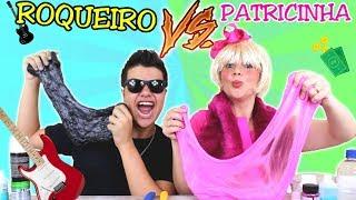 PATRICINHA VS ROQUEIRO FAZENDO SLIME NA ESCOLA - Anny e Eu