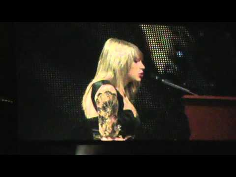 Taylor Swift Red Tour- All Too Well -St. Paul MN
