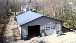 Miracle Truss Buildings. Clear-span steel truss DIY building kits. Aircraft Hangars, Garages & Workshops, Homes & Cabins, Ag use,