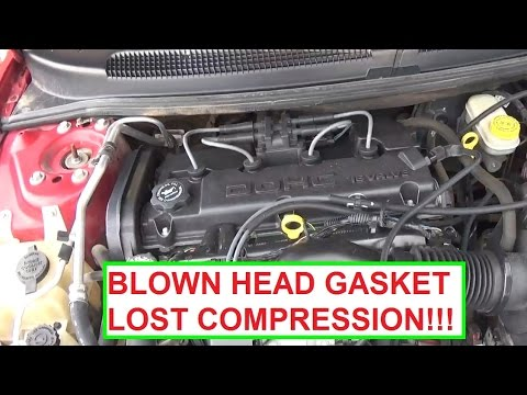 Signs Of A Blown Head Gasket >> Blown Head Gasket Signs. Lost Compression. Demonstrated on Dodge Stratus - YouTube