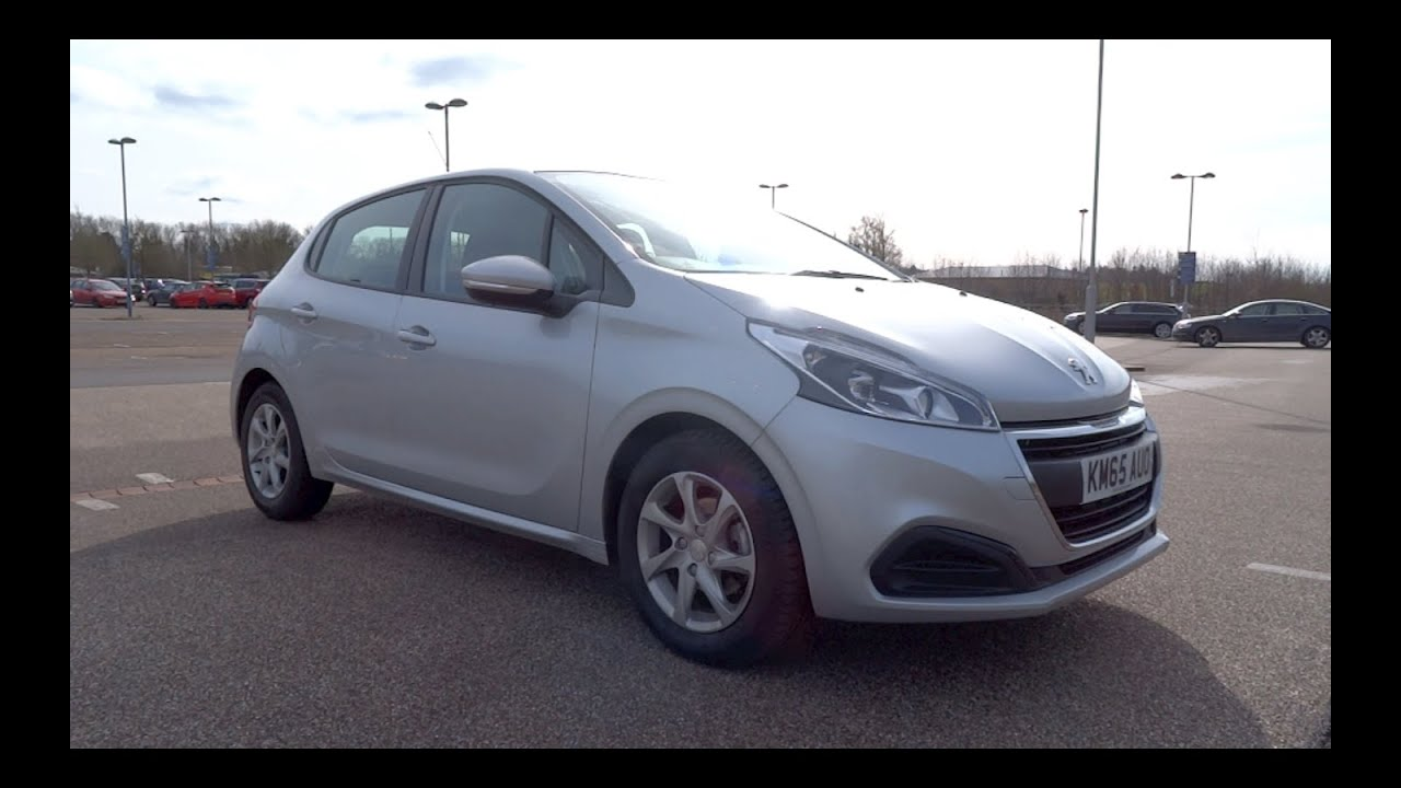 2015 peugeot 208 1 2 puretech 82 active 5 door start up and full vehicle tour youtube. Black Bedroom Furniture Sets. Home Design Ideas