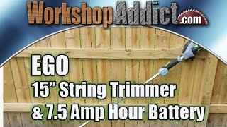"EGO 56 Volt 15"" String Trimmer plus 7.5 Amp Hour Battery Review"