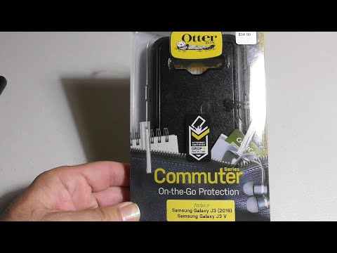 OtterBox COMMUTER SERIES Case for Samsung Galaxy J3/J3 V Black REVIEW