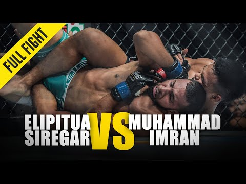Elipitua Siregar vs. Muhammad Imran | ONE Full Fight | November 2018