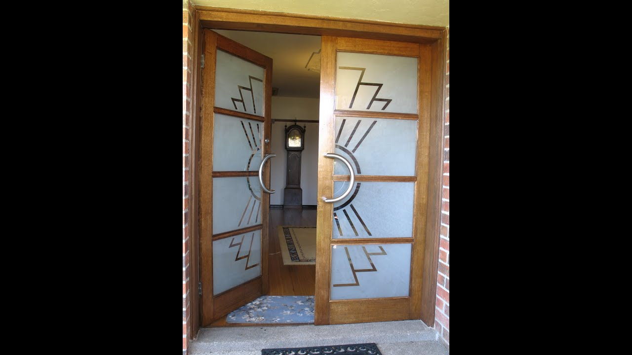 Art Deco Front Door Restoration