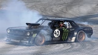 Ken Block drifts in Dubai!