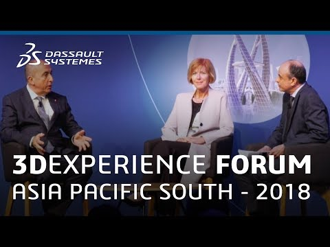 3DEXPERIENCE Forum Asia Pacific South 2018 - Enabling the Future Workforce - Dassault Systèmes