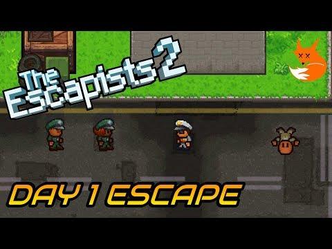 GLORIOUS REGIME DAY 1 ESCAPE (Perimeter Breakout) | The Escapists 2 [Xbox One]