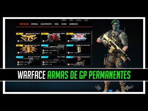 Warface Armas de GP Permanentes