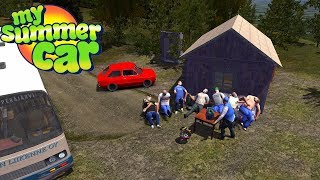 GRILL with FRIENDS and MY NEW CAR - My Summer Car Story #65