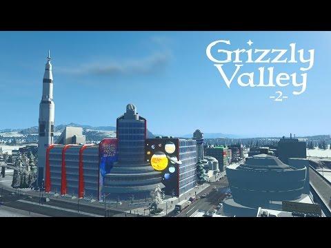 "Cities Skylines (Snowfall) - Grizzly Valley [PART 2] ""Neighborhoods & Schools"""