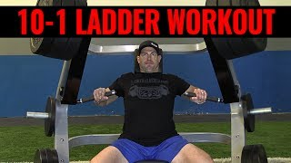 Plate Loaded Chest Press Exercise & WORKOUT