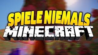 Spiele NIEMALS Minecraft betrunken!