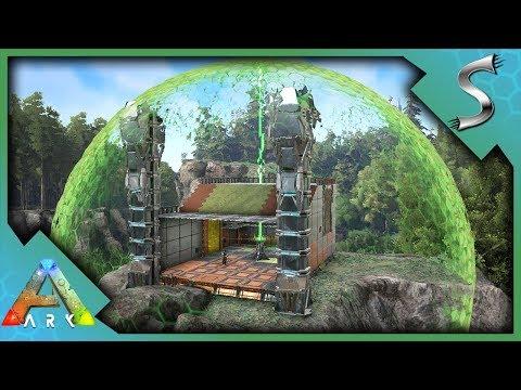 TEK SHIELD GENERATOR & TEK STRUCTURES! TEK GATES + TEK BASE! - Ark: Survival Evolved [S2E94]