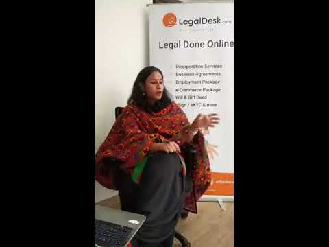 Legal Proof your start-up by LegalDesk in association with BHIVE Workspace