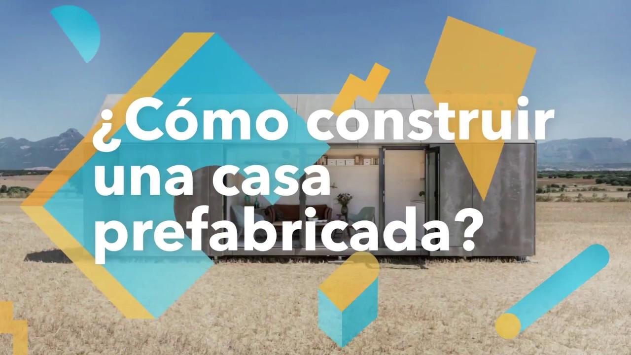 C mo construir una casa prefabricada habitissimo youtube - Como construir una casa prefabricada ...