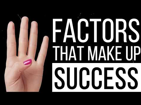 The 4 BIGGEST Factors That Make Up Success | Tuesday Talks