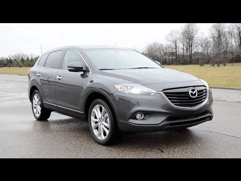 2013 mazda cx 9 grand touring awd wr tv pov test drive youtube. Black Bedroom Furniture Sets. Home Design Ideas