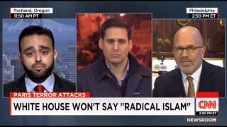 "Ahmadiyya rep Harris Zafar on CNN with John Berman ""Radical Islam"""