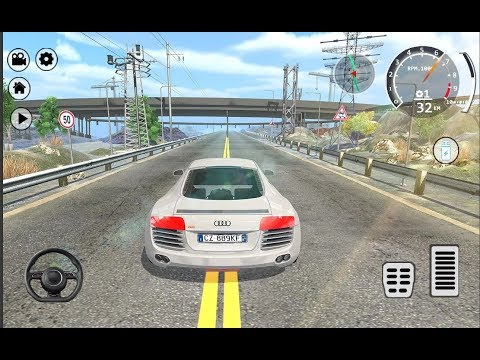 Drift Simulator Audi R8 Sports / Car Racing Games / Android Gameplay FHD thumbnail