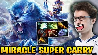 Miracle Mirana: This is How you Carry the Game Dota 2