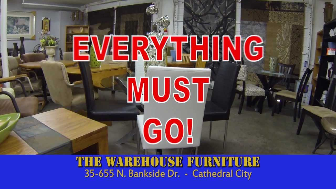 Warehouse furniture liquidation sale youtube for Liquidated furniture sales