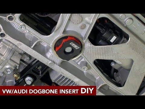 VW/Audi Dogbone Mount Insert Install DIY (MK7 GTI, Golf R, A3, S3)