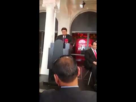 What Happened during Pervez Musharraf Lecture in Noble Peace Center Oslo Norway From Start to End