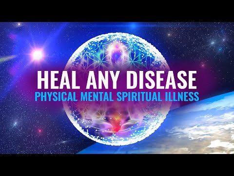 Heal Any Disease: Physical Mental Spiritual Illness, Binaural Beats | 9 Solfeggio Frequencies