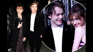 Stranger Things star Charlie Heaton and Natalia Dyer silence split rumours with loved up display of