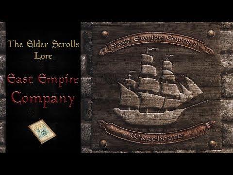 East Empire Company - The Elder Scrolls Lore