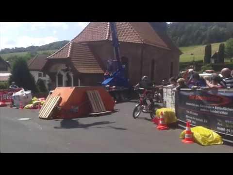SKR Röhrig 2014: In schwindeliger Höhe auf zwei Rädern