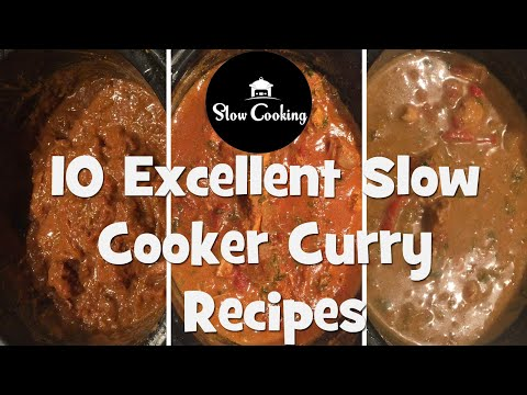 10 Excellent Slow Cooker Curry Recipes