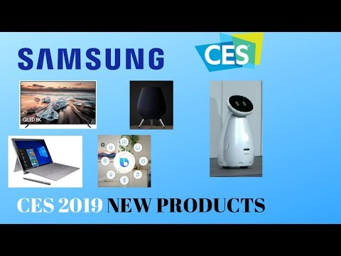 SAMSUNG - CES 2019 LIVE PRESS CONFERENCE - NEW PRODUCTS