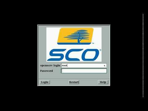 SCO OpenServer 5.0.7 (x86) running under VirtualBox
