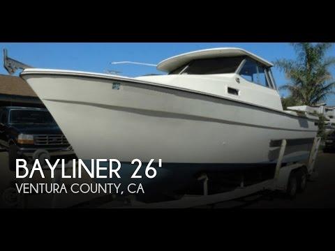 UNAVAILABLE Used 1982 Bayliner 26 Explorer In Oxnard California