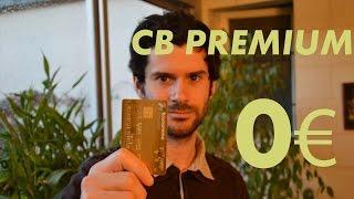 Une carte bancaire PREMIUM pour 0€/an