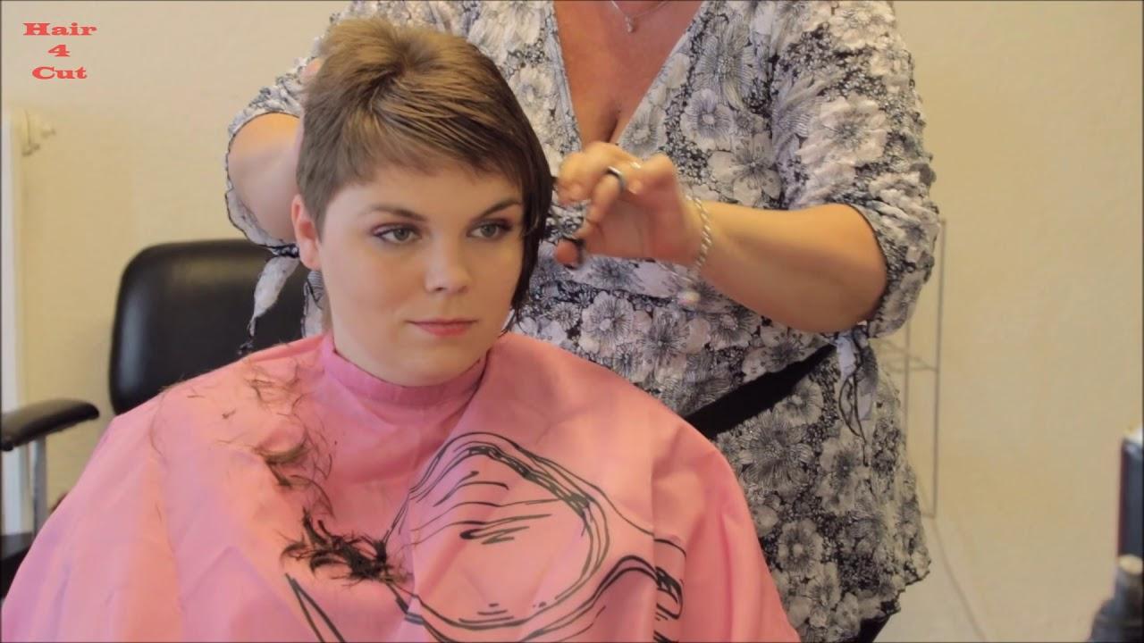 11-11 Katerina preview - long hair cut short - YouTube