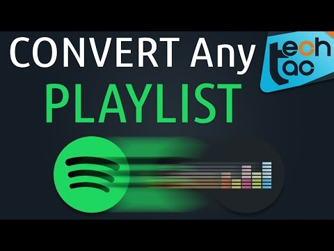 How to CONVERT Spotify playlists to Deezer playlist or the other way around