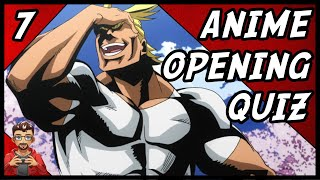 Anime Opening Quiz  [2018]  - Easy - [20 Openings]