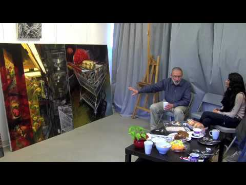 JERMOME WITKIN MFA CRITIQUE AT LCAD : PART 2 OF 3