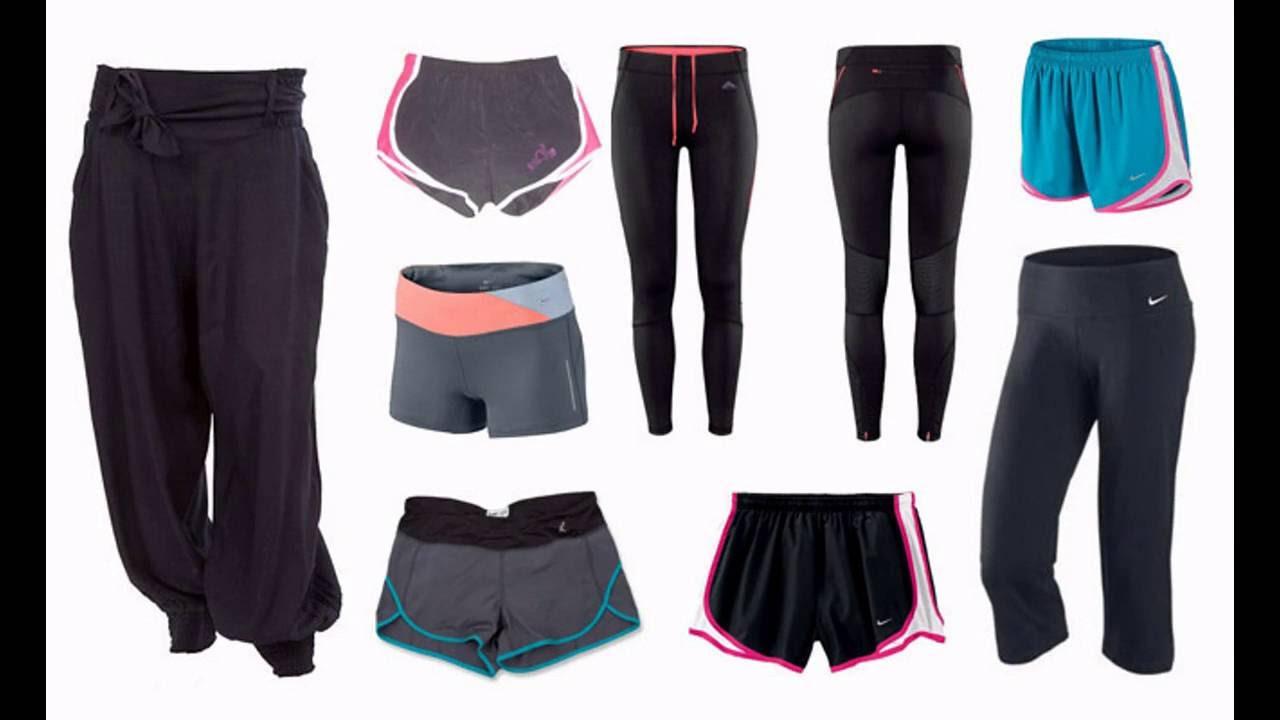 Ropa para hacer ejercicio mujer de moda youtube for Colgadores de ropa de pared