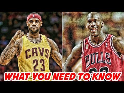 LEBRON JAMES talks about passing MICHAEL JORDAN   NBA News & Highlights